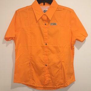 Women's Columbia Titanium Bonehead SS Shirt NWT XL